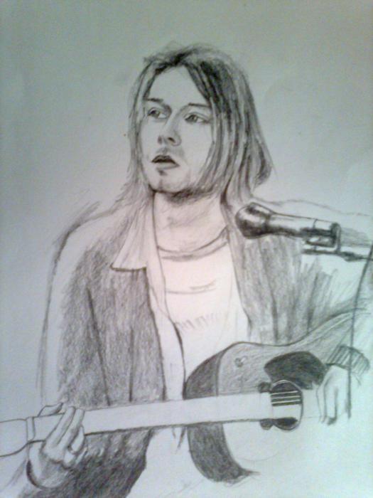 Kurt Cobain by Piyushyankee